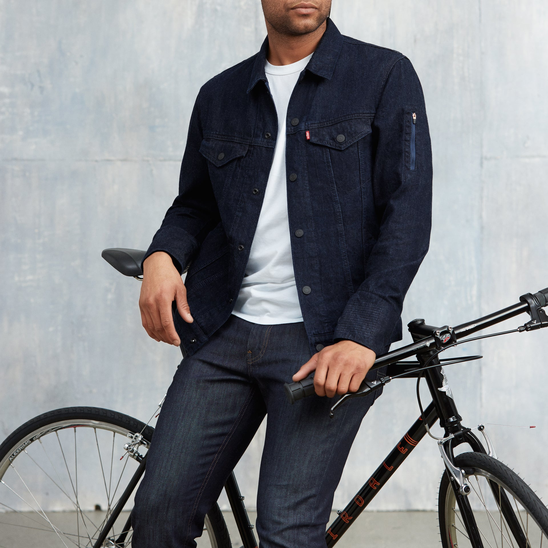 Levi's new Bluetooth-connected jacket seems both cool and weird