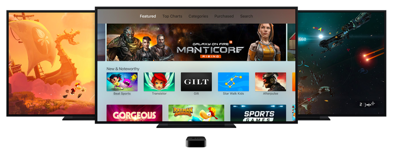 Siri voice commands on the new Apple TV 2015