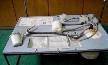 Big Pic: A Soyuz Astronaut's Space Toilet