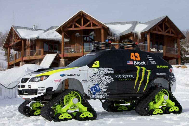 The Baddest Backcountry Shred Machine: The Subaru-Based TRAX STI