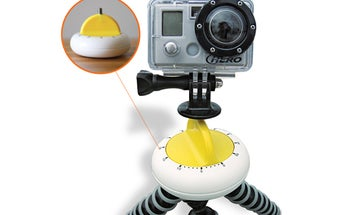 Simple Project of the Month: Build A Rotating Time-Lapse Camera Stand