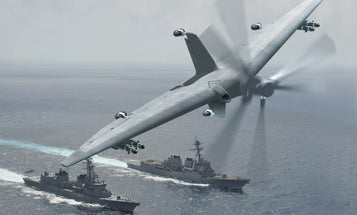 DARPA Wants To Turn Small Ships Into Drone Aircraft Carriers