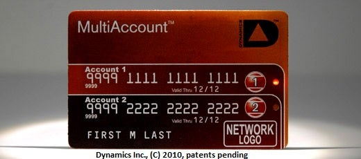 Reprogrammable Card Can Be Many Credit Cards In One