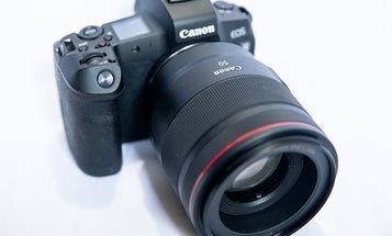 Canon's long-awaited EOS-R camera is easy on the eyes and tough on your thumb