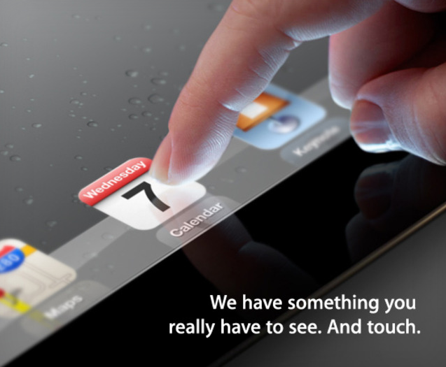 Apple to Announce iPad 3 on March 7th (With Bonus Rumors)