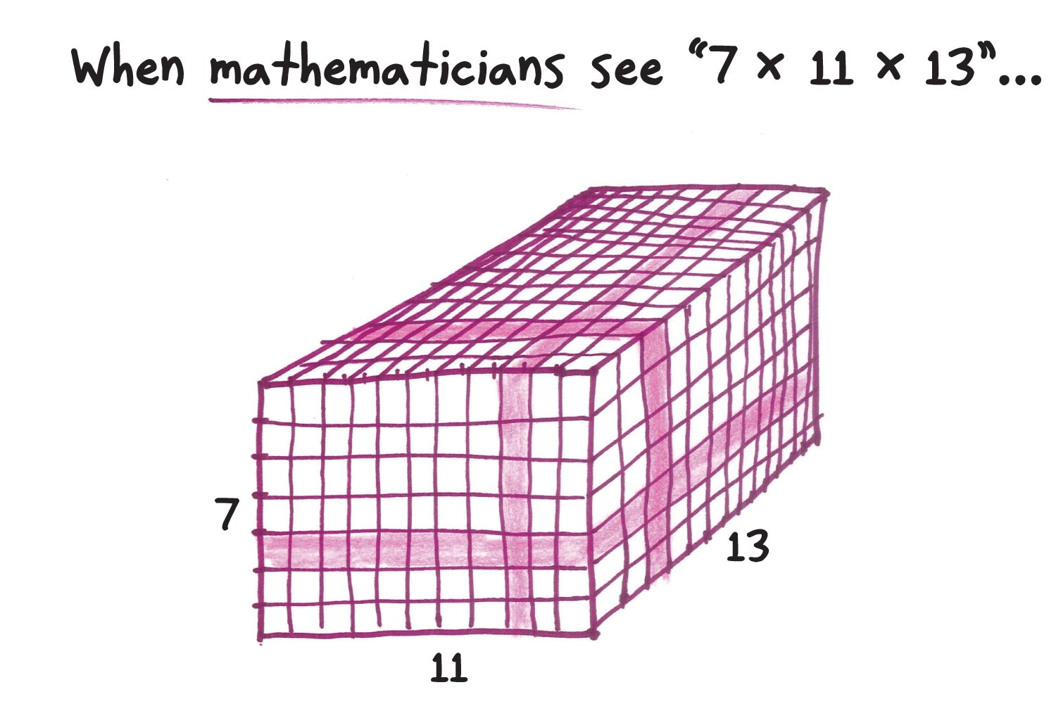 What does math look like to mathematicians?