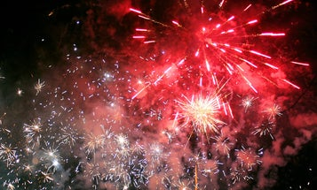 Nitrogen-Fueled Fireworks are Green, But Pricey
