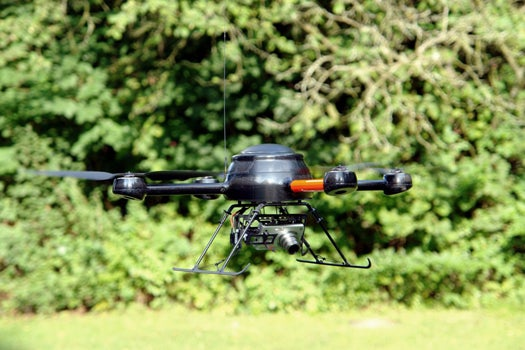 British Crimefighting Drone Collars Its First Perp