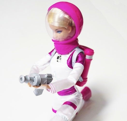 Barbie's Newest Career: Mars Explorer
