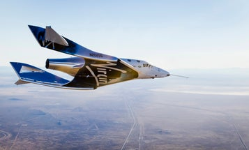 Virgin Galactic's SpaceShipTwo glides back into the space race