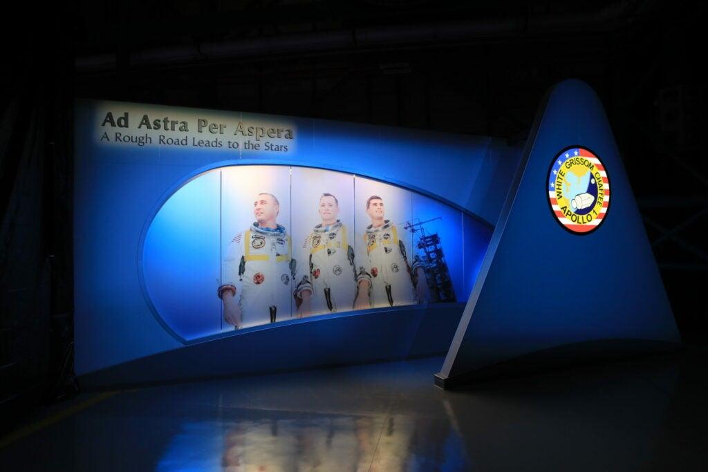 apollo 1 museum exhibit