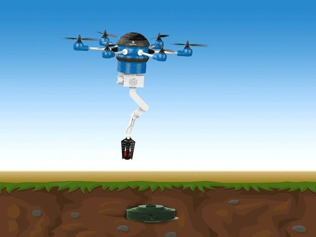 This Drone Wants to Rid The World Of Landmines In 10 Years