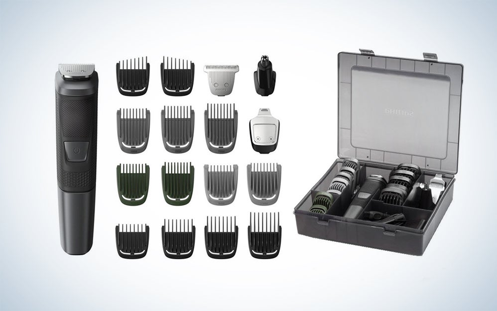 Philips Norelco Multigroom 5000 shaving kit