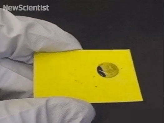 Video: One of the Most Slippery Materials Ever