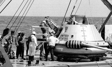 When Astronauts Set Sail Aboard Apollo Command Module 007