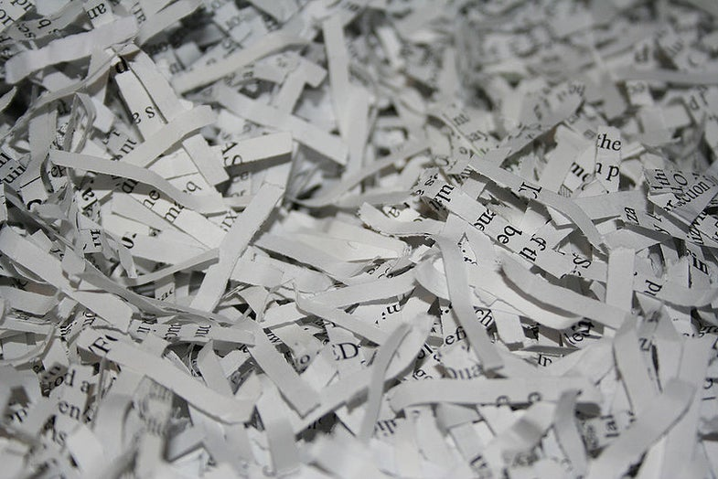 DARPA's Impossible-Sounding Shredder Challenge is Already Solved