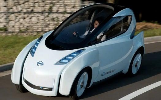 Nissan's Lean, Green 'Land Glider'  Banks Like a Motorcycle, Feels Like A Plane