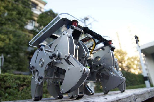Video: Scurrying Rideable Robot Platform Lets You Surf on 12 Legs