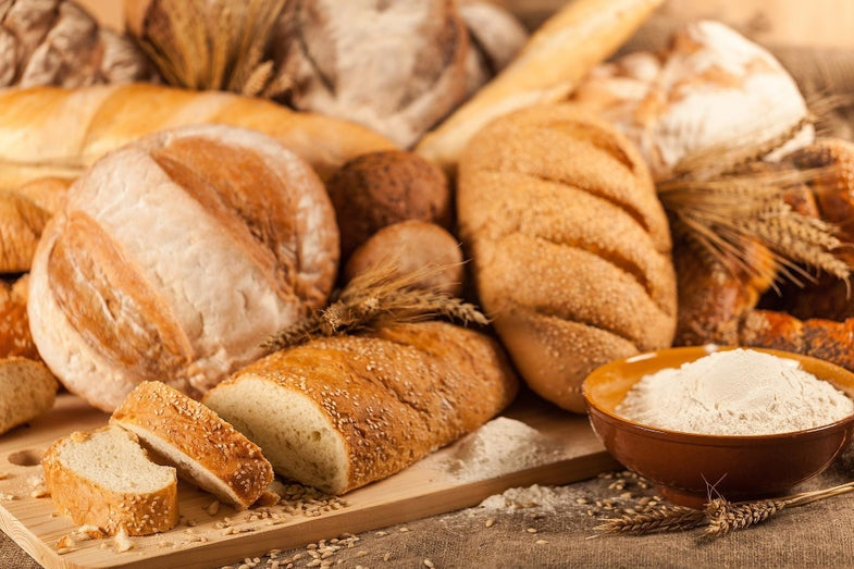 Types of bread for a bread and water diet