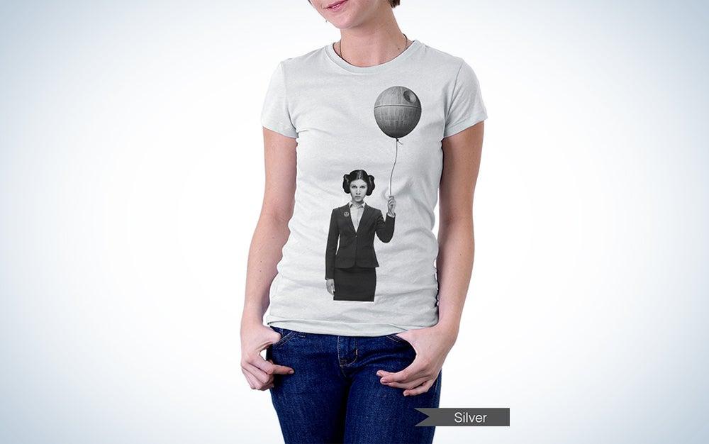 Princess Leia Death Star Balloon T-shirt