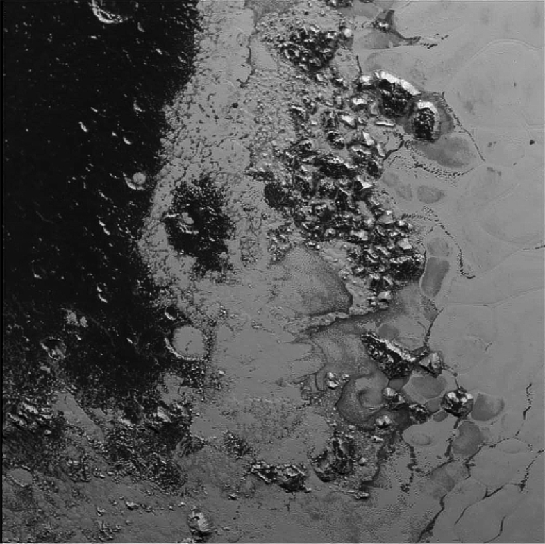 Pluto Has A Second Mountain Range That Looks Like Earth's Appalachians