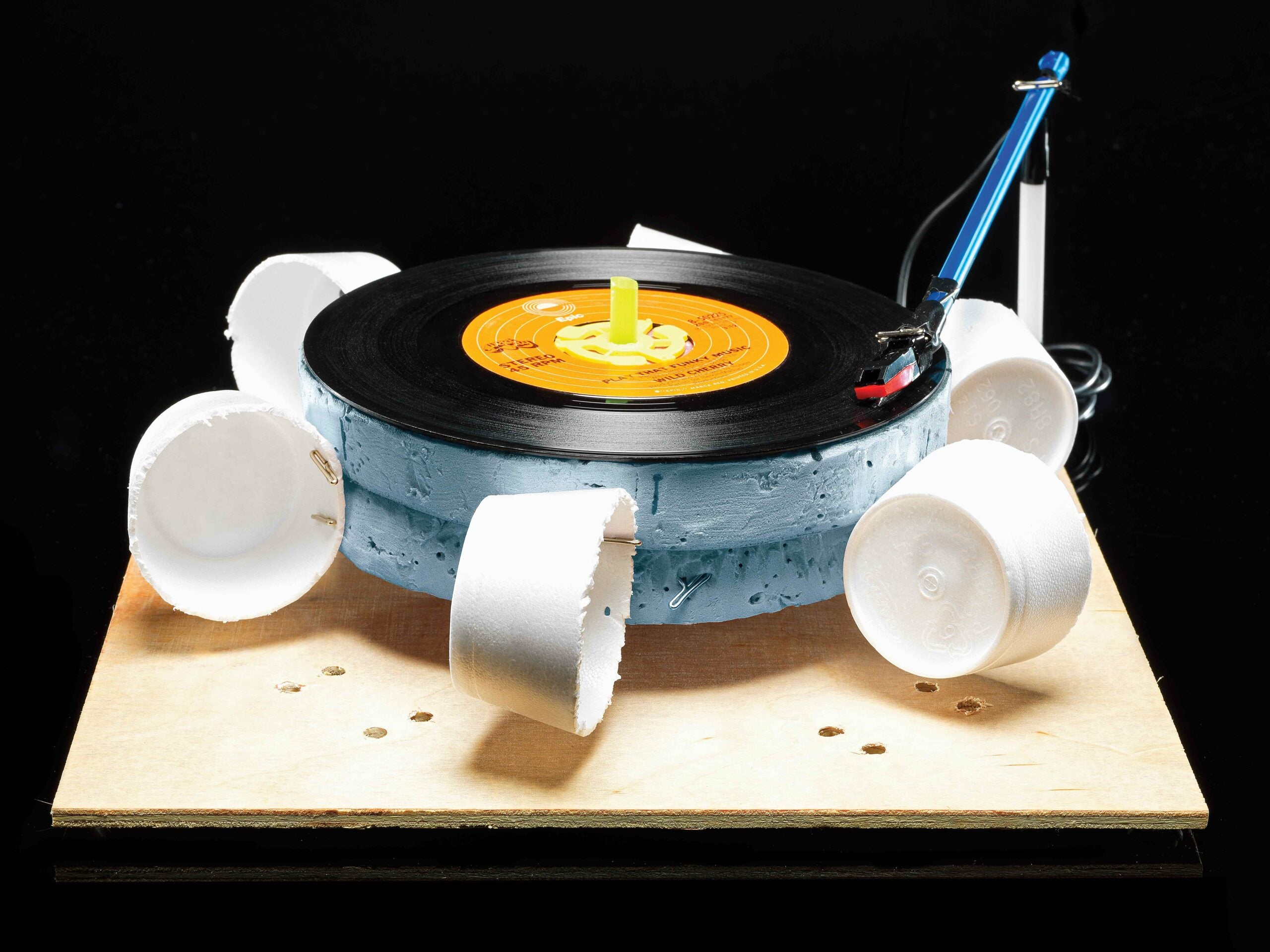 Wind-Powered Record Player