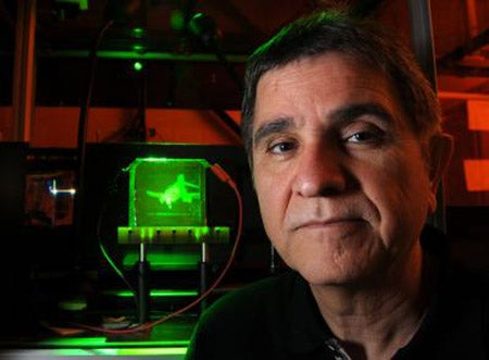 New Holographic Device Can Record and Display 3-D Holograms in Near Real Time