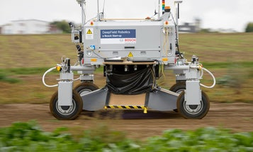 Farm Robot Learns What Weeds Look Like, Smashes Them
