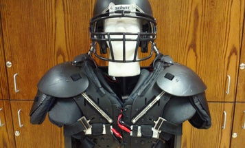 A Helmet Inspired By Woodpeckers Could Save Football Players From Concussions
