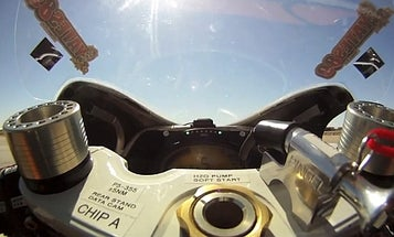 Video: Driver's-Eye View As the Fastest Electric Motorcycle In The World Breaks 190 MPH