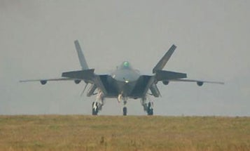 China's First Stealth Plane Emerges From Hiding Ahead of Schedule