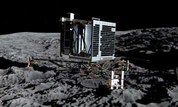 Comet Lander Philae Contacts Earth Again After Risky Maneuver
