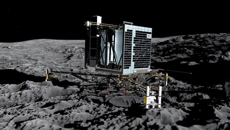 Philae Lander, Stranded On Comet, Remains Silent