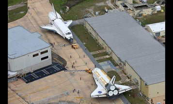 Shuttle Shuffle Brings Atlantis and Discovery Face to Face Once More