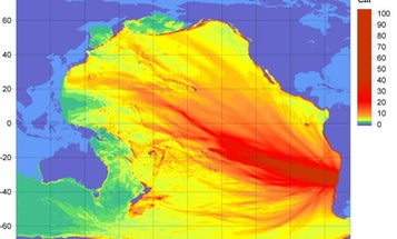 A Bird's Eye View of the Chile Earthquake's Energy Distribution