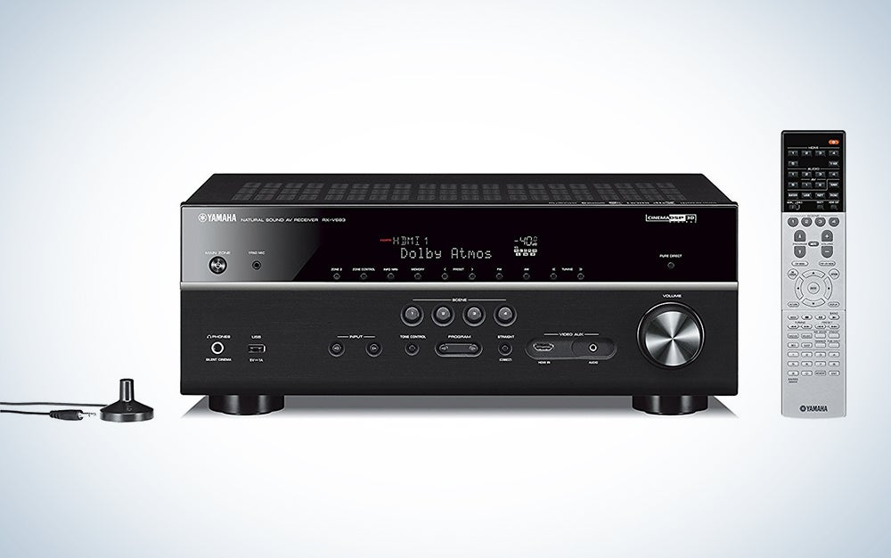 Yamaha 7.2-channel receiver