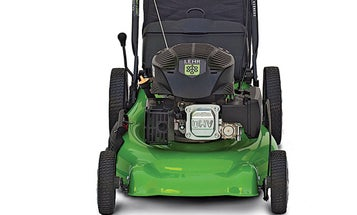 A Propane-Powered Lawnmower Cuts Cleaner