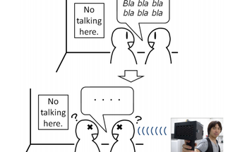 Speech Jamming Gun Freezes Any Talker Mid-Sentence