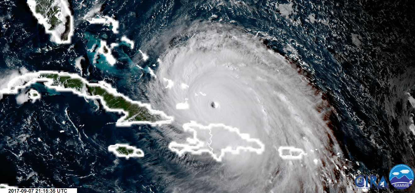 The massive, record-breaking Hurricane Irma is on its way to Florida
