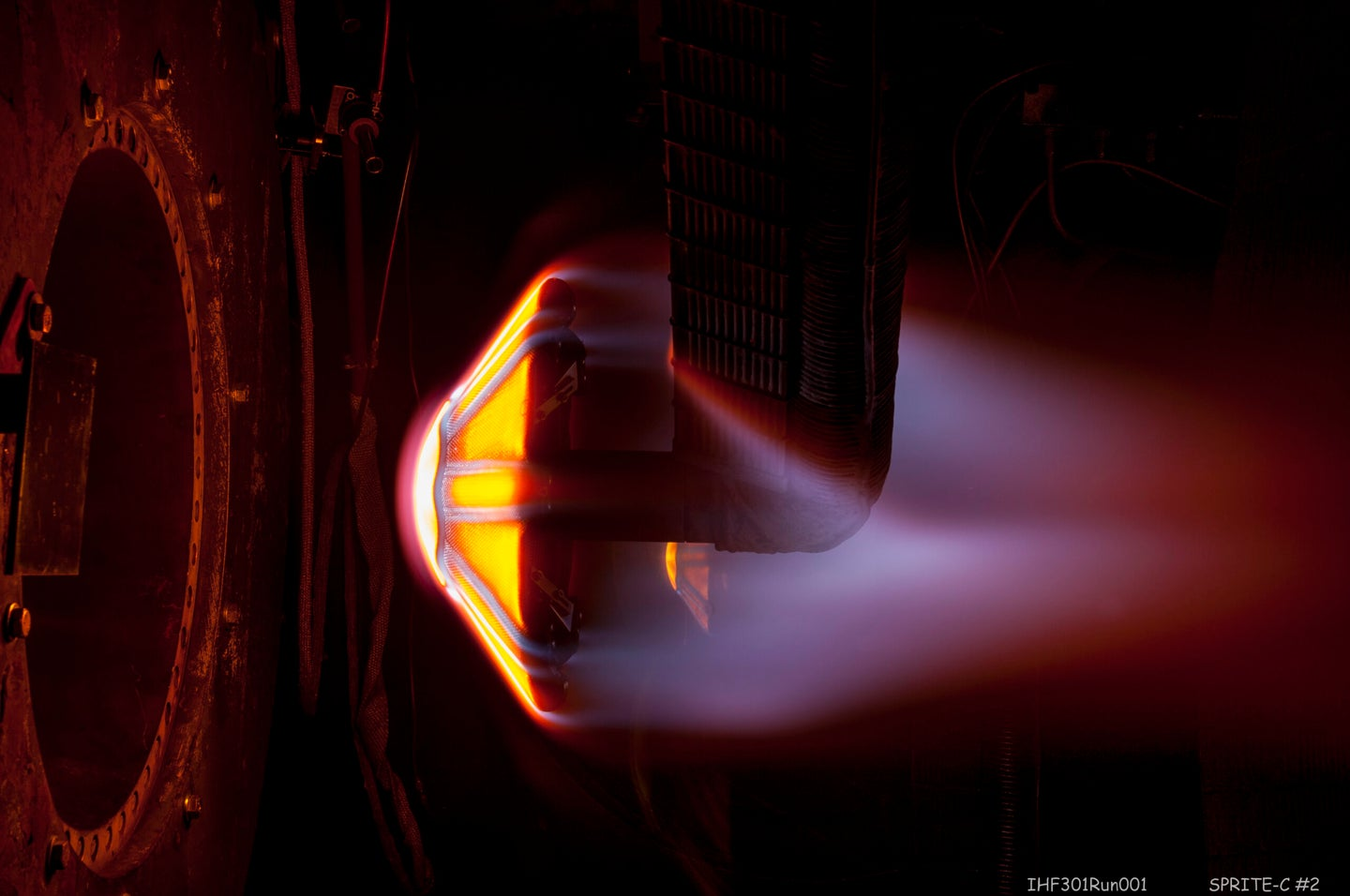 The ADEPT heat shield gets put to the test