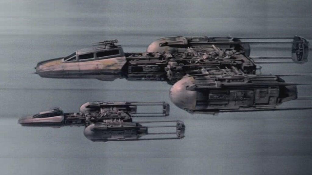 *Star Wars* Match: Y-Wing Starfighter