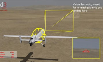 New System To Allow For Automated Predator Drone Landings