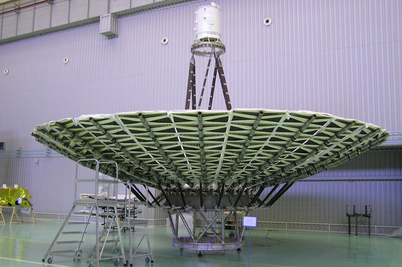 Russian Space Telescope Lifts Off,  Will Be Biggest Telescope Ever