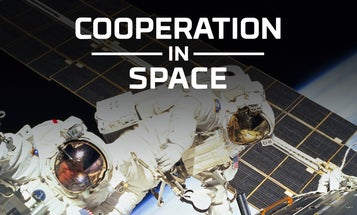 Going to space helped teach the world to work together