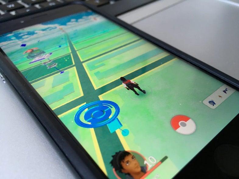 Pokémon Go Google privacy
