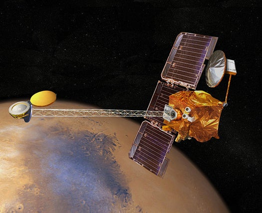 Mars Odyssey Orbiter is Now the Longest-Running Mission to the Red Planet
