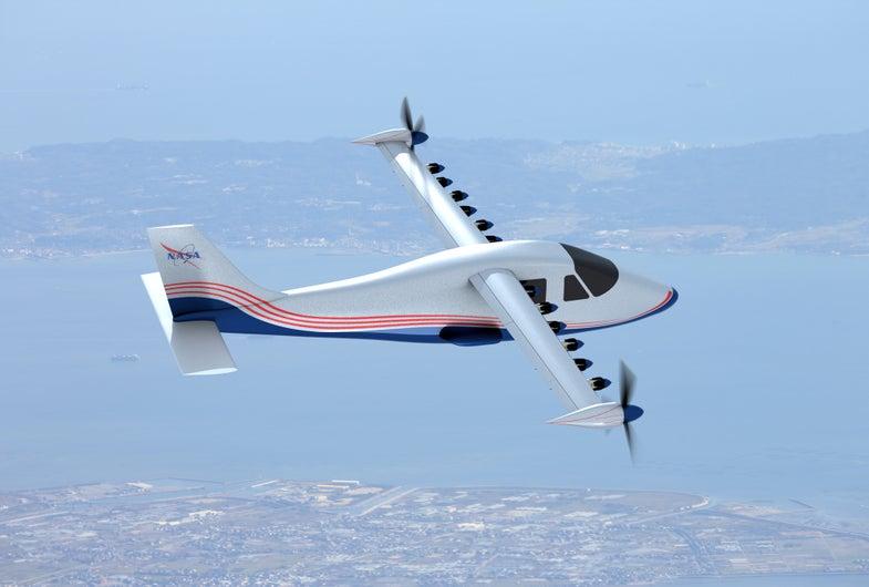 Meet Maxwell, NASA's New All-Electric Experimental X-Plane