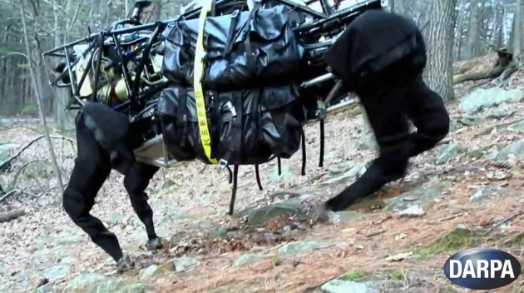 Video: DARPA's Legged Squad Support System (a.k.a. Big Dog) Goes Outside to Play