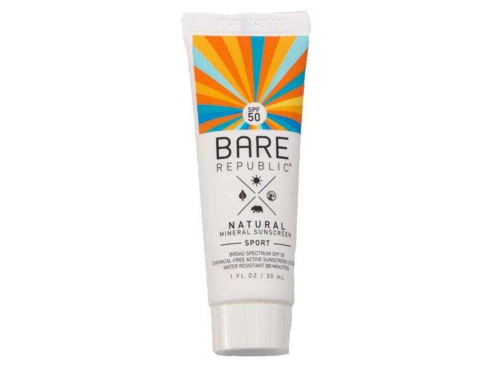 Bare Republic Sunscreen