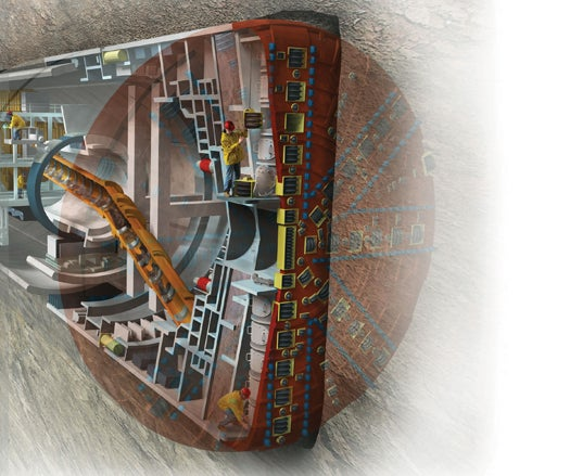 Changing The Teeth On The World's Largest Tunnel-Boring Machine